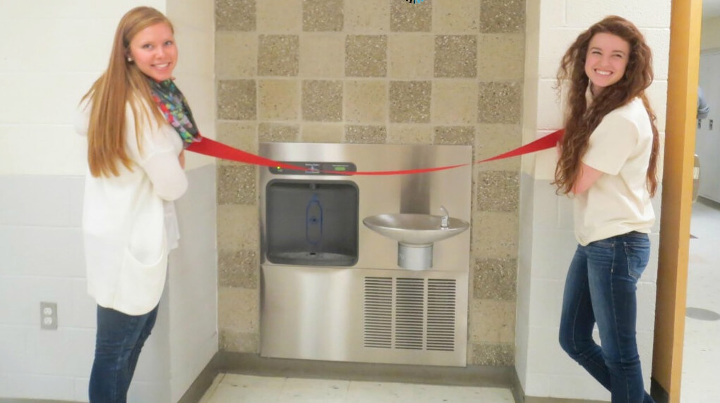 Grants For Water Bottle Filling Stations In Schools The