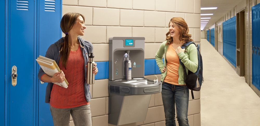 the solution - Elkay Drinking Fountain